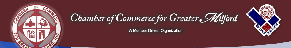Page header banner with Chamber of Commerce Logo